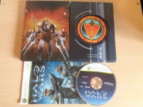 Halo Wars Limited Steel Book Edition (Xbox 360)